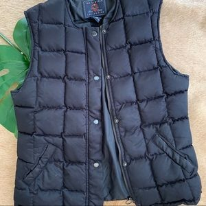 Black Puffer Vest from The Limited